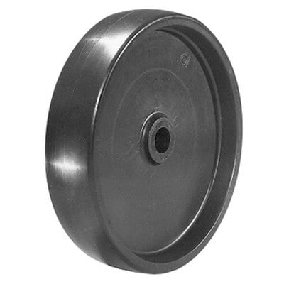 "Solid Polyolefin Wheel - POLYOLEFIN 4X1-1/4""X /2""BORE(CW20); Model CWP-1A by Wesco"