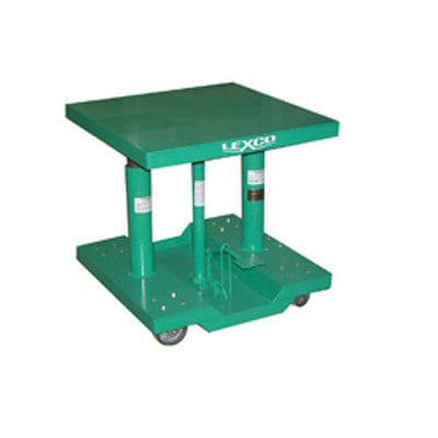 Lexco Foot Operated Hydraulic Lift Table Model HT-2324-2F-A by Wesco