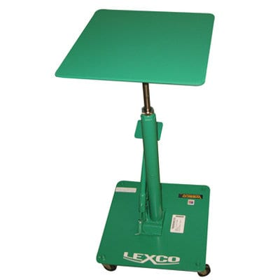 Lexco Foot Operated Hydraulic Lift Table Model HT-300-FR by Wesco