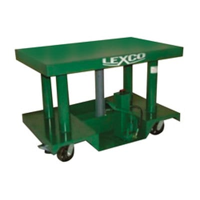 Lexco Foot Pump or Powered Hydraulic Lift Table Model HT-3043-23 by Wesco